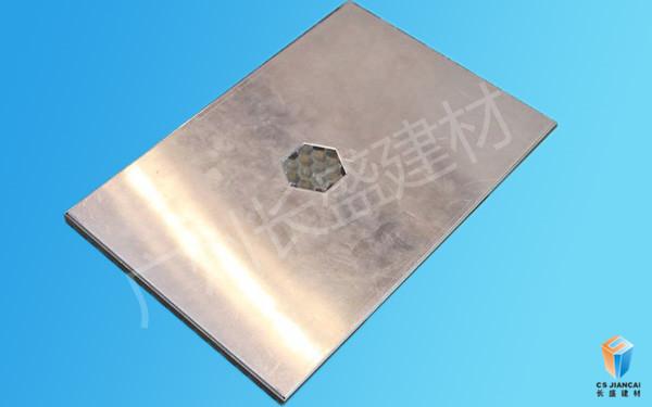丝印铝蜂窝板底面