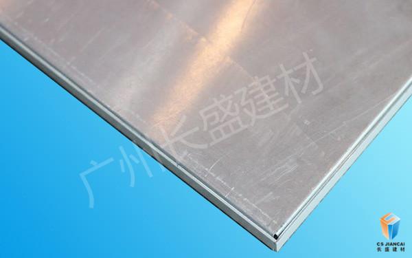 丝印铝蜂窝板底面边角细节图