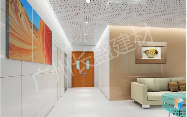 广州长盛建材冲孔铝单板应用实例图1