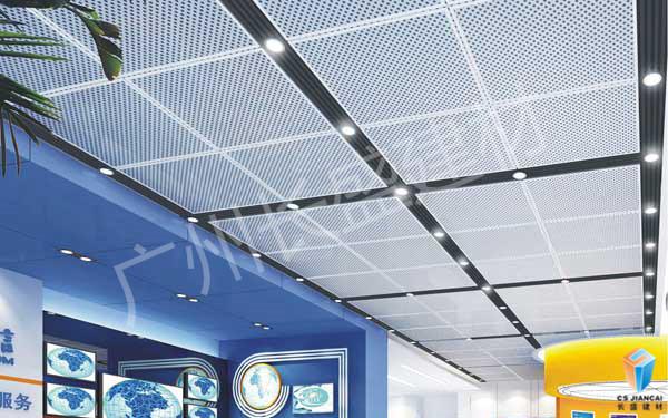 冲孔铝单板装饰效果1