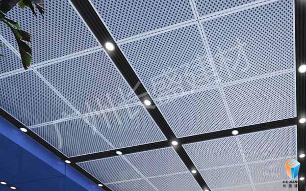 冲孔铝单板装饰效果3