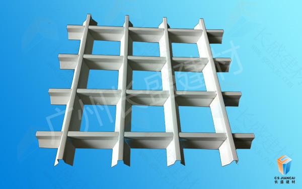 长盛建材铝格栅吊顶 铝格栅天花