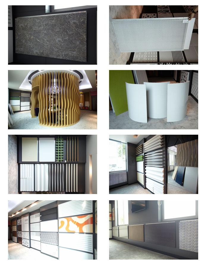 长盛建材铝格栅展厅图