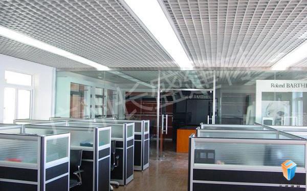 长盛建材铝格栅吊顶实例应用效果图