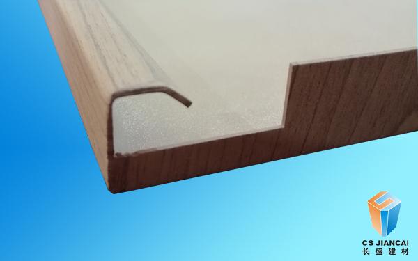木纹勾搭铝单板一角