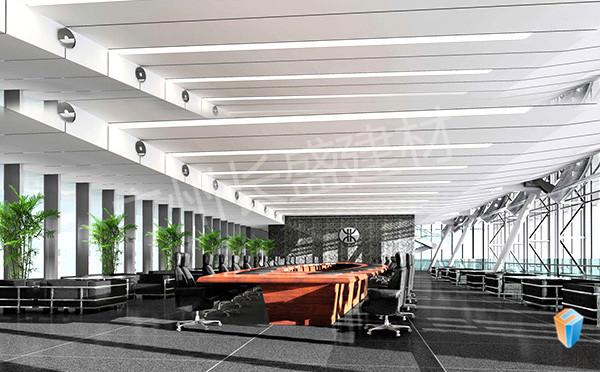 长盛建材勾搭铝单板应用效果图2