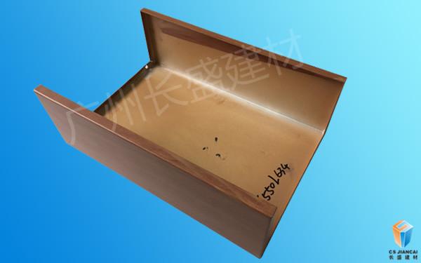 长盛建材包柱铝单板实拍图集