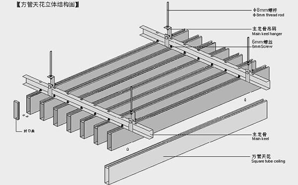 选择铝格栅挂片天花吊顶的简单妙招