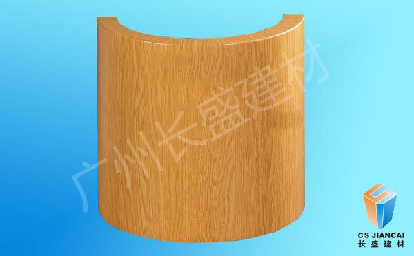 木纹包柱铝单板
