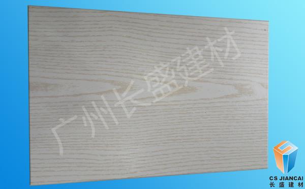 仿白橡木木纹铝蜂窝板样板正面