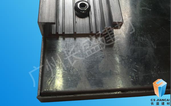勾塔式仿木纹铝蜂窝板边角