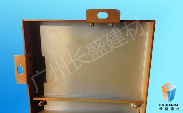 仿木纹铝单板角码产品实拍图