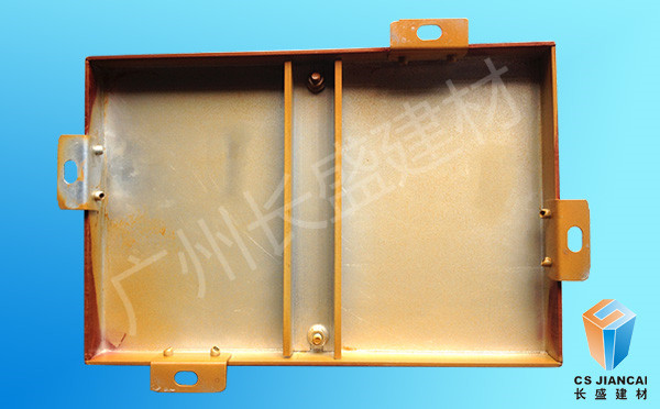 仿木纹铝单板反面产品实拍图