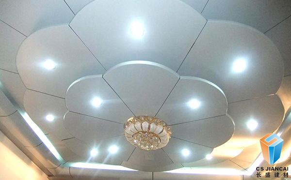 弧形铝单板室内装饰吊顶