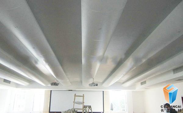弧形铝单板走廊通道应用效果