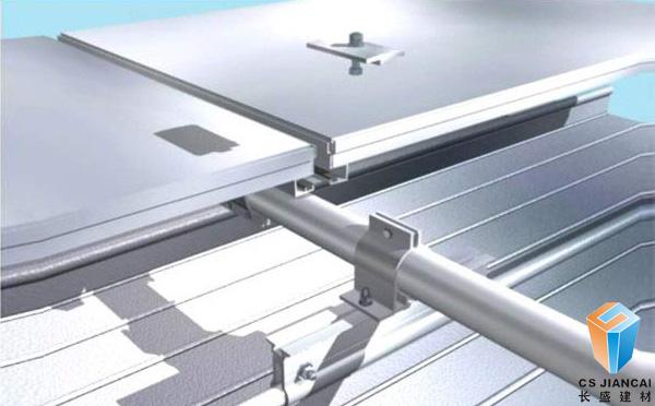 冲孔铝蜂窝板安装实拍图二