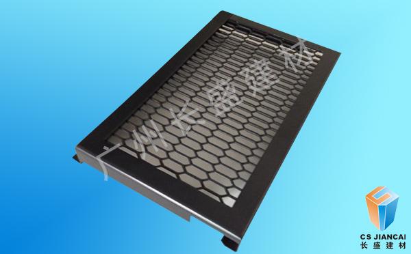 拉网铝单板勾搭式