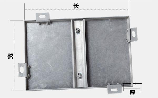 仿木纹铝单板长宽厚