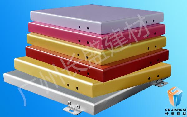 氟碳铝单板颜色多样化