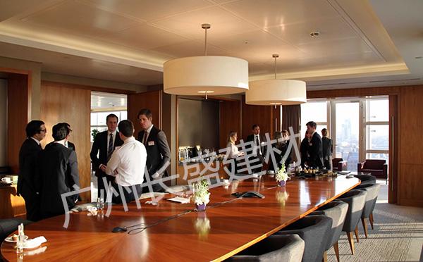 氟碳铝蜂窝板会议室吊顶