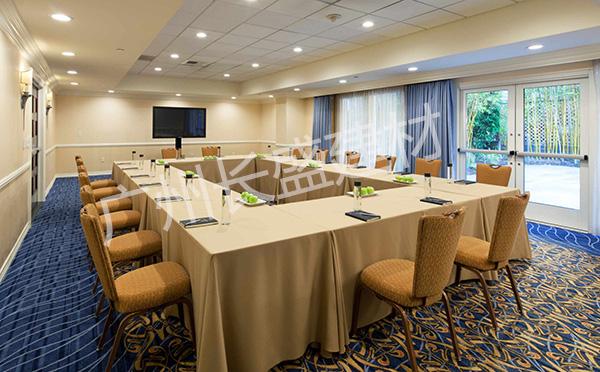 氟碳铝单板大型会议室装饰