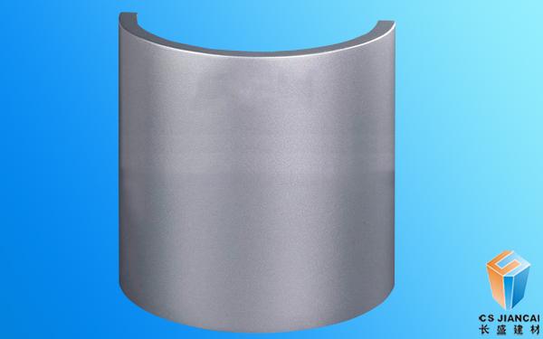 包柱弧形铝单板