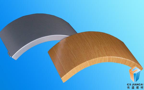 普通木纹弧形铝单板