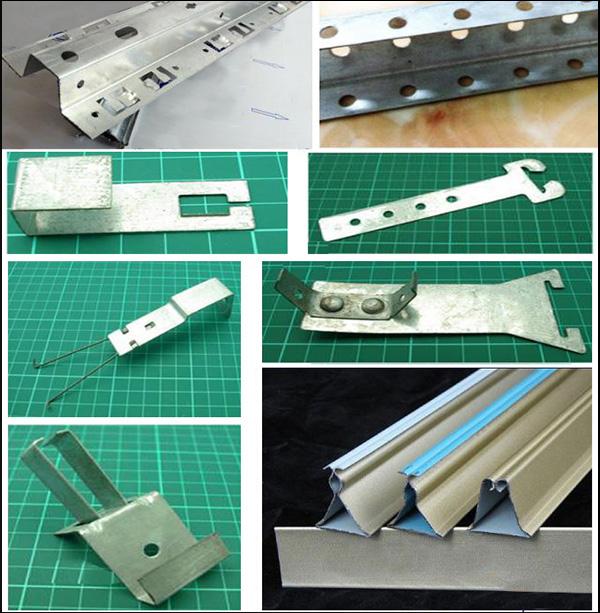 铝扣板安装部件
