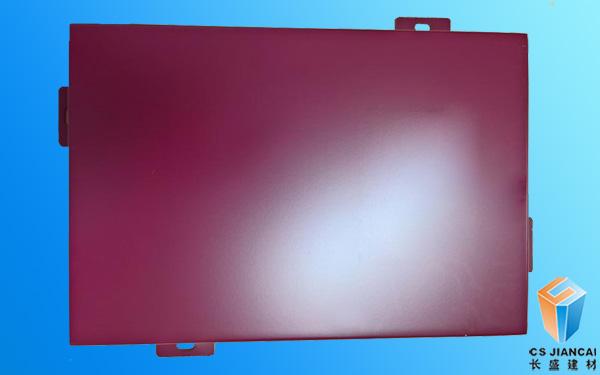 红色幕墙铝单板