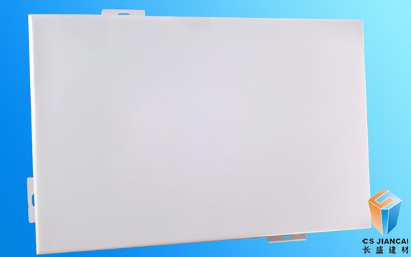 珠光白幕墙铝单板
