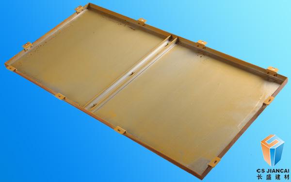 300*1200mm木纹铝单板底面图