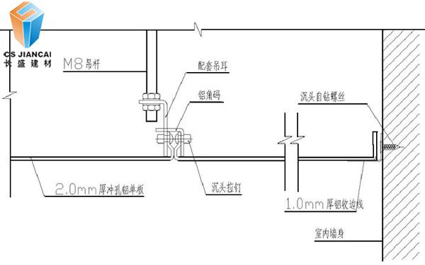 氟碳铝单板安装图3