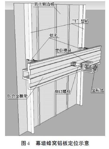 铝蜂窝板幕墙节点图