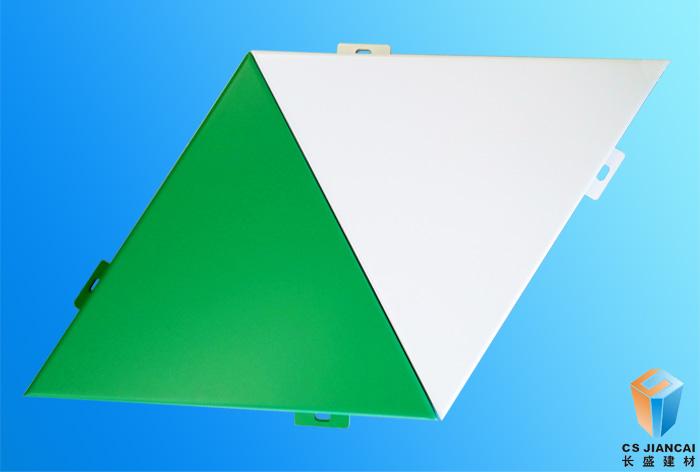 三角氟碳铝单板