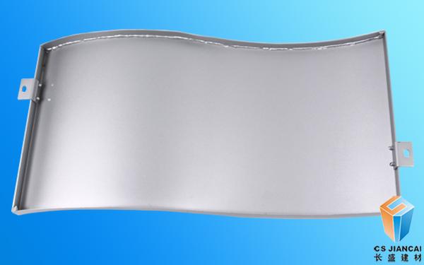 弧形铝单板结构图