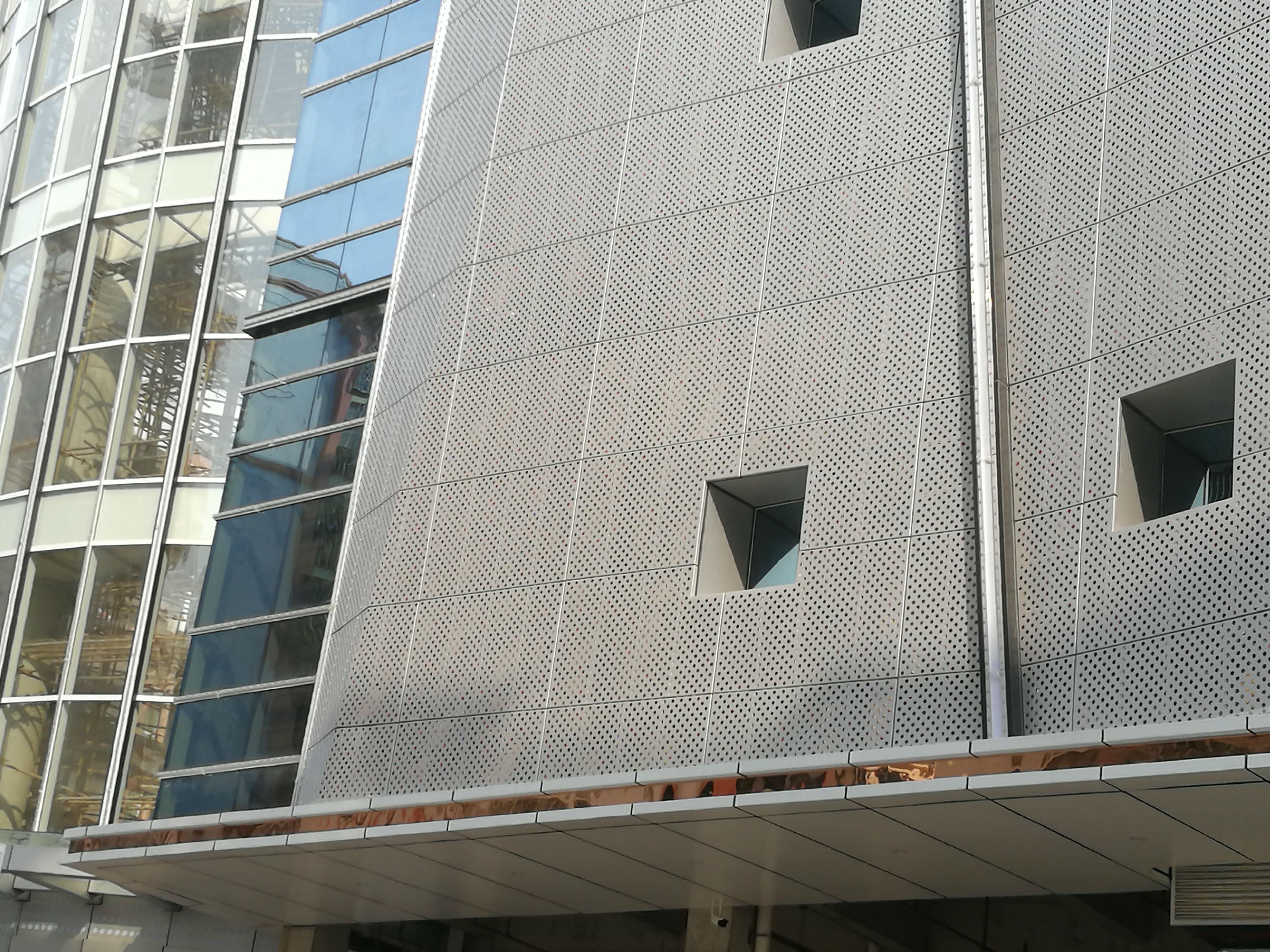 镂空铝单板室外幕墙效果
