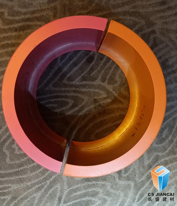 橙色包柱铝单板中心图