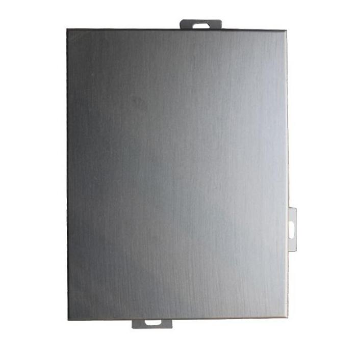 金属色拉丝铝单板