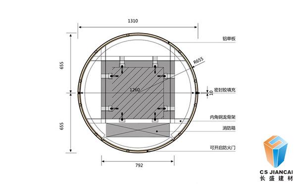 氟碳铝单板安装人工费多少一平