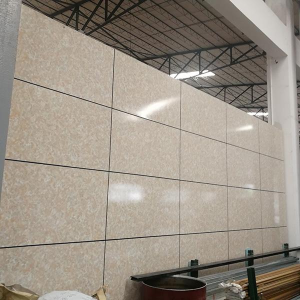 石纹铝蜂窝板幕墙展示图